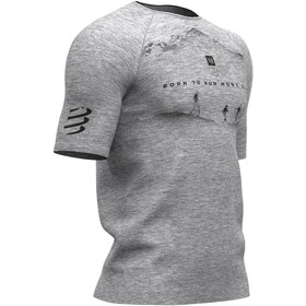 Compressport Training Mont Blanc 2019 SS T-Shirt Men, grey